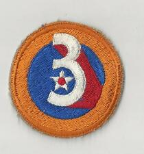 US ARMY AIR CORPS PATCH - 3RD AIR FORCE