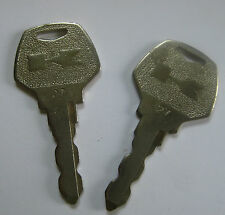 KAWASAKI VINTAGE SNOWMOBILE QTY 2 IGNITION KEYS #27 NEW OLD STOCK 27008-3508