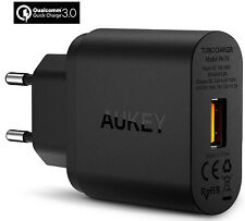 AUKEY 18W FAST/TURBO USB WALL CHARGER WITH QUALCOMM QUICK CHARGE 3.0