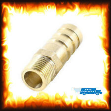 "1/8"" BSP to 8mm Brass Male Barb Hose Tail Fitting Fuel Air Gas Water Hose Oil"