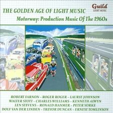 Golden Age of Light Music: Motorway - Production music of the 1960s New CD