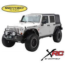 Smittybilt 76837 XRC Front & Rear Flat Fender Flares 2007-2015 Jeep Wrangler JK