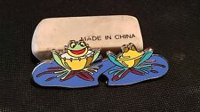 Drum & Cymbal Frogs Disney's Alice In Wonderland Tulgey Wood Fantasy Pin LE50