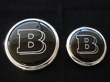 Emblem set hood and trunk Brabus style for W124,W140,W203,w210,w211w220 other