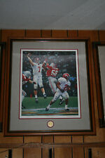 Alabama Football framed THE WINNING CONNECTION signed art print by Daniel Moore