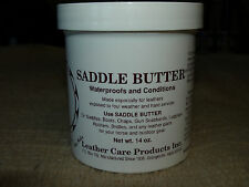 Ray Holes Leather Care Products - saddle butter for care of horse tack