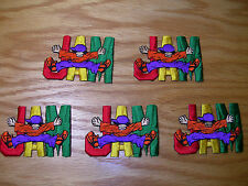 """LOT 5 """"JAM"""" EMBROIDERED IRON ON PATCH - Entertainment Memorabilia!"""