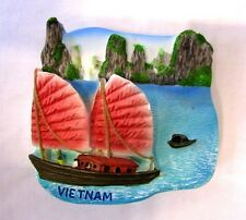 HALONG BAY VIETNAM 3D MAGNET TRAVEL GIFT RESIN CRAFT FRIDGE SOUVENIR KITCHEN