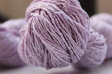 Bourette Silk Twisted 2ply - 250 Meters - Knitting & Crocheting - 100% Silk 11