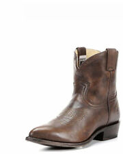 NUOVO CON SCATOLA-Frye Billy Breve Stivali Da Cowboy-Marrone scuro-UK 5, noi 7M, EU 37,5