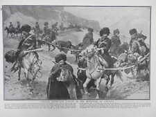 1916 COSSACK STRETCHER BEARERS FIELD AMBULANCE CONVOY CAUCASIA WWI WW1
