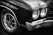 1970 Chevrolet Chevelle SS Photo Art Print 13x19 Muscle Car Poster 396 454 Chevy