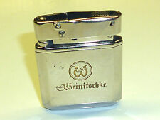 "HELIOR ""52"" ASHISH & CO AUTOMATIQUE POCHE ESSENCE BRIQUET 1952 MADE IN GERMANY"