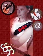 HUMMER H3, 2 Copricinture Universali, DECORO: H3 rosso !
