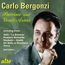 CD CARLO BERGONZI PUCCINI & VERDI ARIAS from AIDA LA BOHEME MADAMA BUTTERFLY ETC
