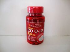 Puritan's Pride Q-Sorb  CO Q-10 100 mg 60 softgels Heart Health Made in USA