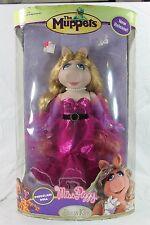 BRASS KEY MISS PIGGY PORCELAIN DOLL THE MUPPETS