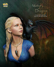 Nuts Planet, Mother of Dragons, 1/10th scale unpainted resin bust kit NIB