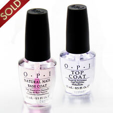 LOT 2 OPI  Vernis à ongle TOP + BASE Coat  Professionnel Nail Art Manucure