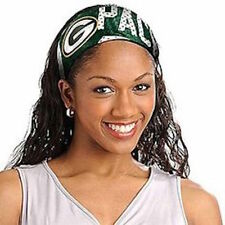GREEN BAY PACKERS Jersey Fanbands  HEADBAND NFL Womens Ladies Team Apparel