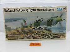 Frog Mustang P-51A Fighter 1/72 Scale Plastic Model Kit UNBUILT