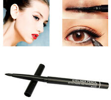 Black Waterproof Rotary Gel Cream Eye Liner Black Eyeliner Pen Makeup Cosmetic
