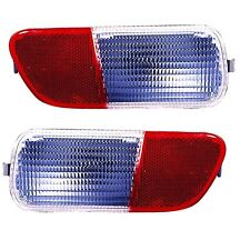 2006 - 2010 CHRYSLER PT CRUISER REAR BUMPER BACK UP LAMP LIGHT RIGHT & LEFT SET