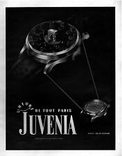 ▬► PUBLICITE ADVERTISING AD JUVENIA WATCH MONTRE 1948
