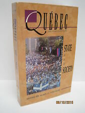 Quebec: State and Society Edited by Alain G. Gagnon Second Edition