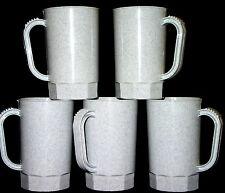 75-1 PINT GRANITE  PLASTIC BEER MUGS  STEINS MFG. USA  LEAD FREE NO BPA