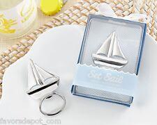 25 Sailboat Bottle Opener Wedding Favors Beach Theme Bridal Shower Favor