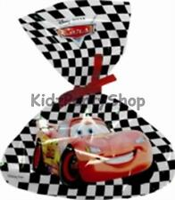 Cars Party - 6 Plastic Candy Favor Loot Bags - Free Post UK - Disney Pixar's
