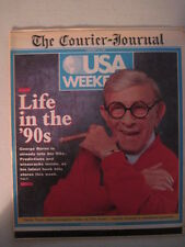 Louisville Courier Journal Magazine, 1989. George Burns- Life in the '90s!