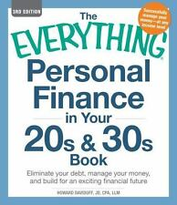 The Everything Personal Finance in Your 20s and 30s Book: Eliminate-ExLibrary
