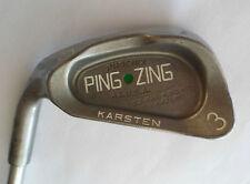 Left Handed Ping Zing Green Dot 3 IRON  KT-M Steel Shaft   Jaxx Grip