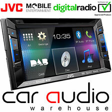 "JVC kw-v235dbt 6.2 ""Double Din DVD MP3 USB AUX DAB RADIO & BLUETOOTH CAR PLAYER"