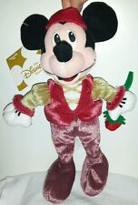 ROMEO AND JULIET MICKEY MOUSE PLUSH DISNEY STORE 22Cm. Peluche Topolino Soft Toy