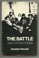 The Battle and Other Poems by Dominic Vincelli (Hardback/Dust Jacket 1974)