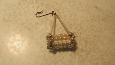 Antique Glass Bead & Tube Tree Ornament Roller