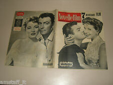 TONY CURTIS=GLORIA DEHAVEN=ELEANOR PARKER=ROBERT TAYLOR=COVER MAGAZINE 1955/387