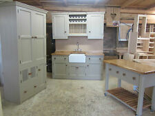 SPECIAL OFFER MURDOCH TROON 4 PIECE FREESTANDING PINE KITCHEN WITH OAK WORKTOPS