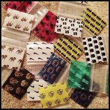 12510 25 Designs Mix Mixes Prints Mixes Apple Brand 100 Baggies Plastic Ziplock