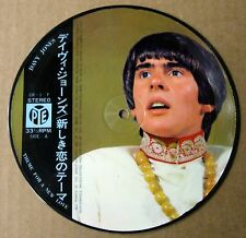"Monkees (Davy Jones) - Theme For A New Love - 7"" Picture Disc - Japan - NM"