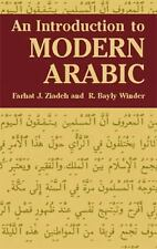 An Introduction to Modern Arabic, Farhat J. Ziadeh, R. Bayly Winder, Acceptable