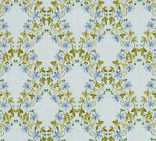 By 1/2 Yard Benartex Fabric ~ Aria Sonata by Dover Hill ~ Watercolor Floral Blue