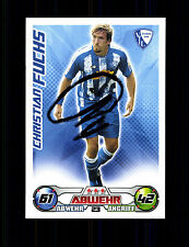 Christian Fuchs VFL Bochum Match Attax Card Original Signiert+ A 136382