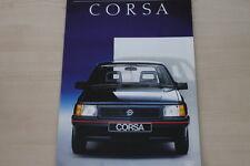 153386) Opel Corsa A Prospekt 07/1987