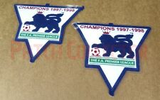F.A. Premier League Gold Soccer Patch / Badge 1997-1998 Arsenal Jersey