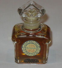 Vintage Guerlain Mitsouko Perfume Bottle - 1/2 OZ - 15 ML - Open - 3/4+ Full