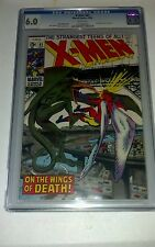 X-MEN # 61 CGC 6.0 Neal Adams art. Newly graded.  White pages!